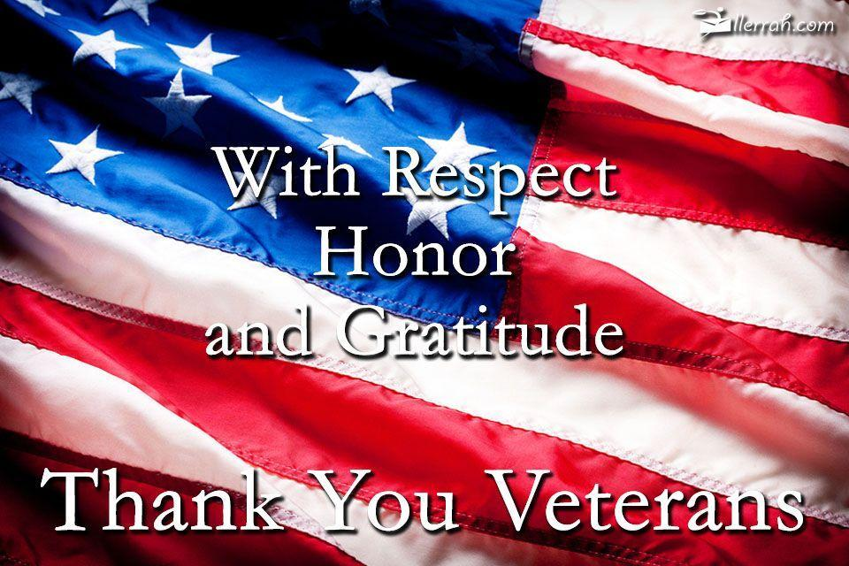 Appreciation for veterans