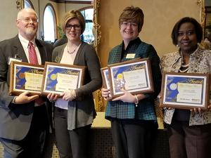 Nine Awards for Mount Airy City Schools