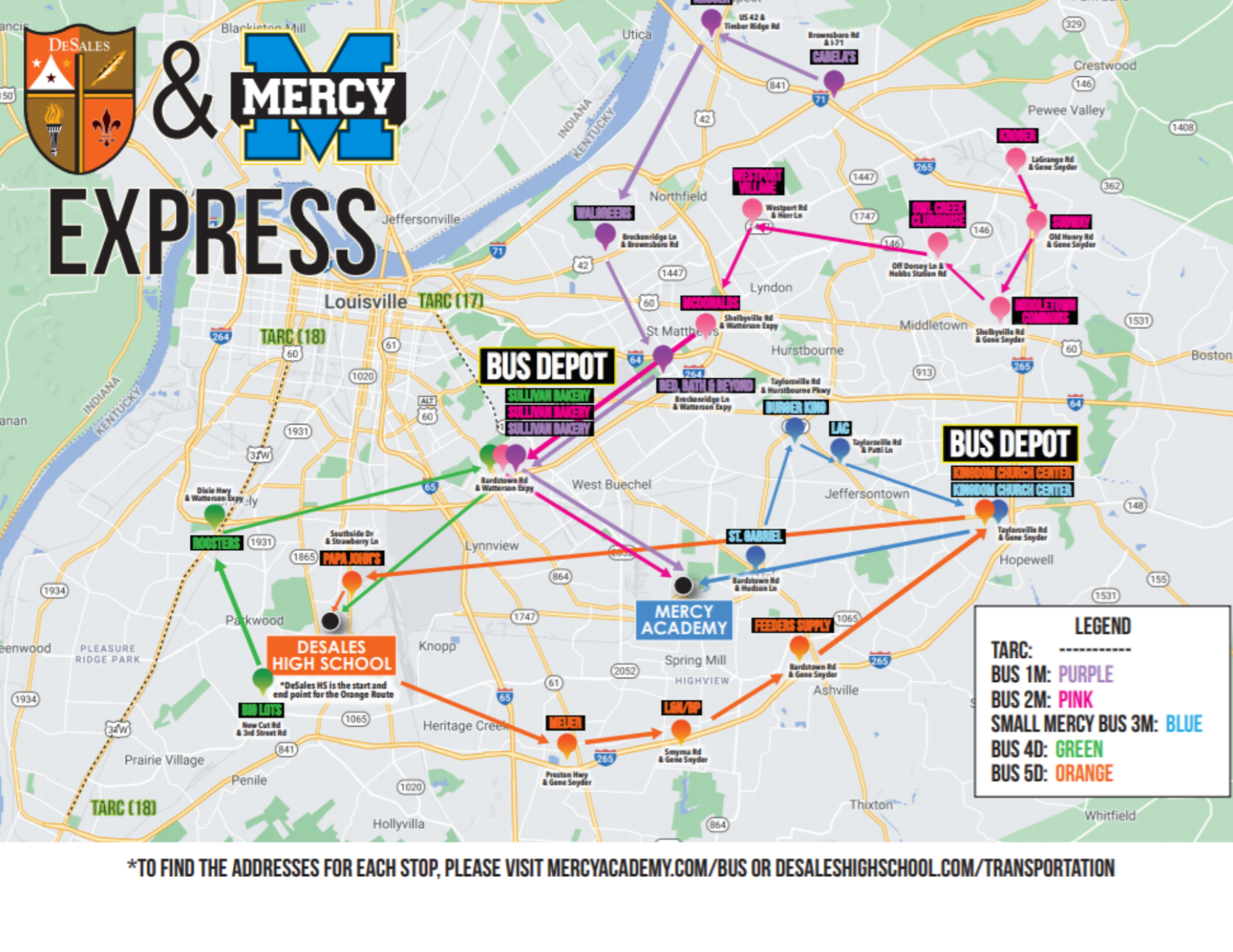 DeSales & Mercy Express