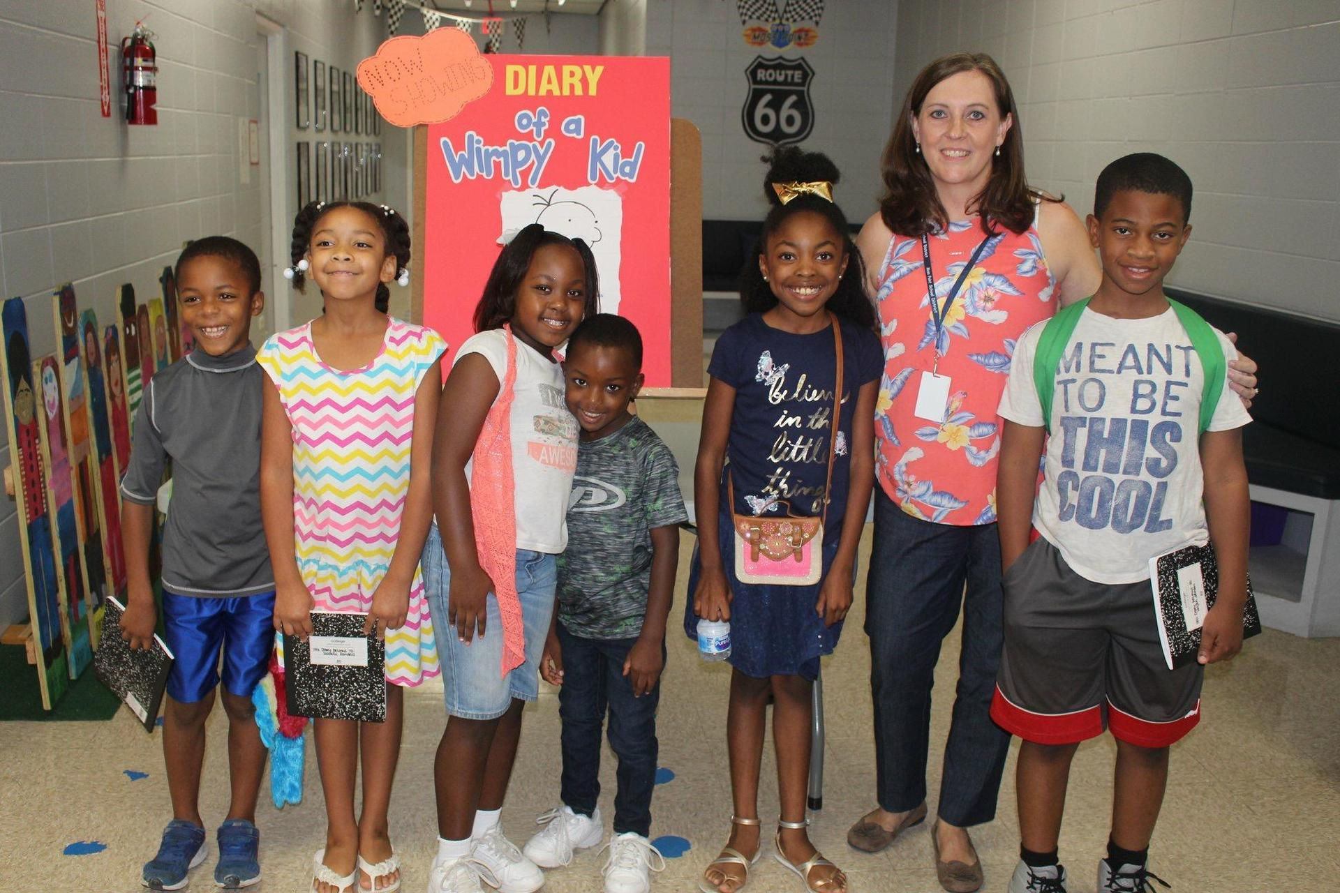 P-16 Community Engagement Council Diary of a Wimpy Kid Photos