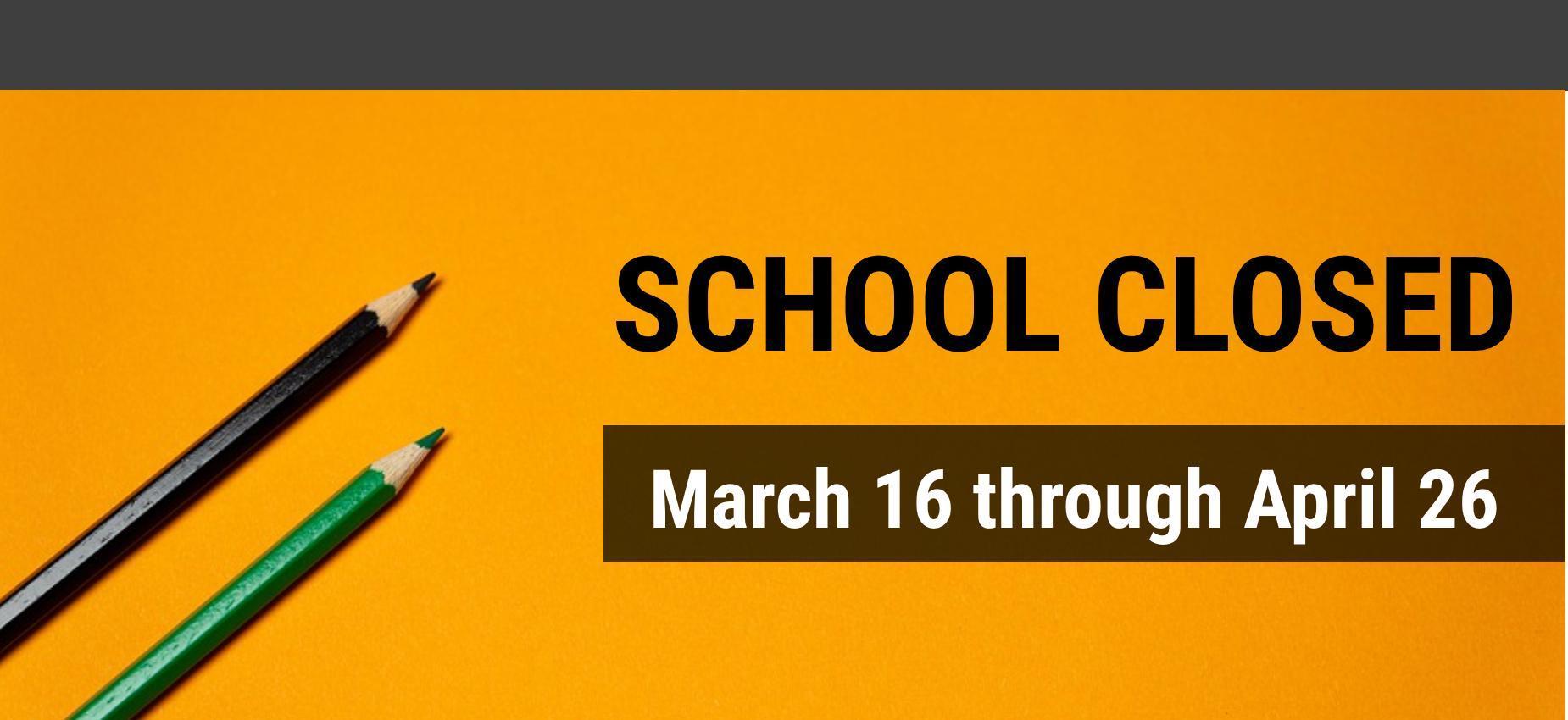 Image, School Closed
