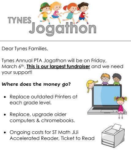 Jog a thon info