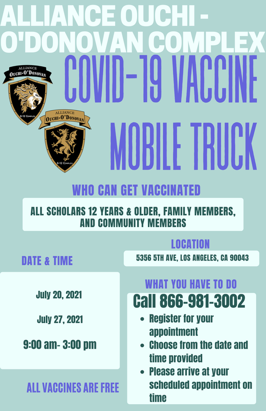 Mobile COVID-19 Vaccine Truck available for Ouchi-O'Donovan community members! Thumbnail Image