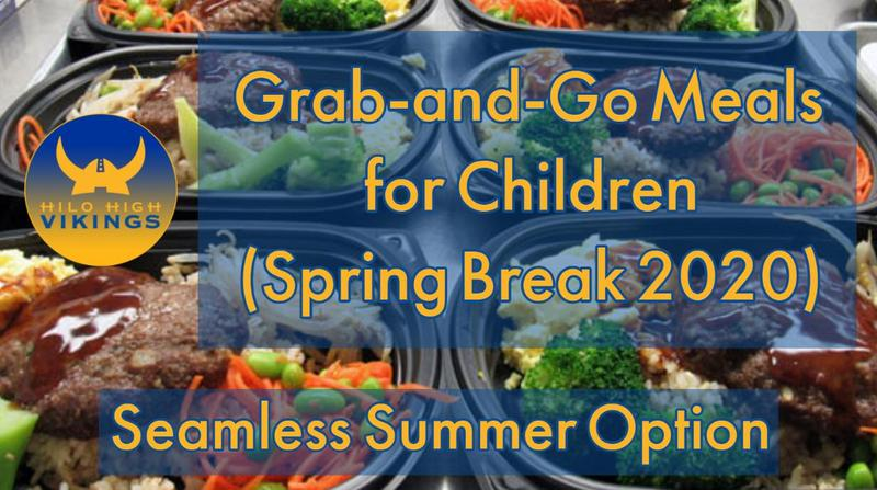 Grab-and-Go Meals Distribution Sites (2020 Spring Break) Featured Photo