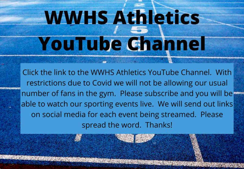 WWHS Athletics YouTube Channel Thumbnail Image