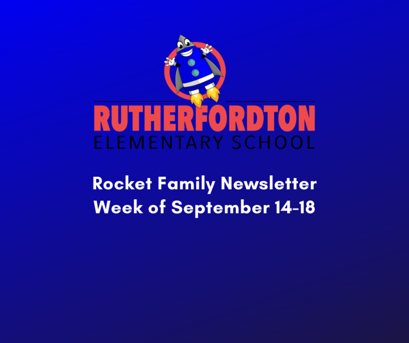 Rocket Family Newsletter - Week of September 14 -18 Featured Photo