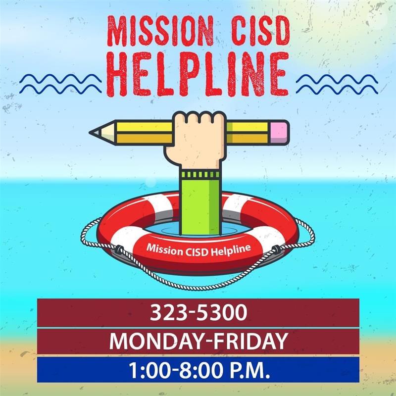 Mission CISD Helpline Featured Photo