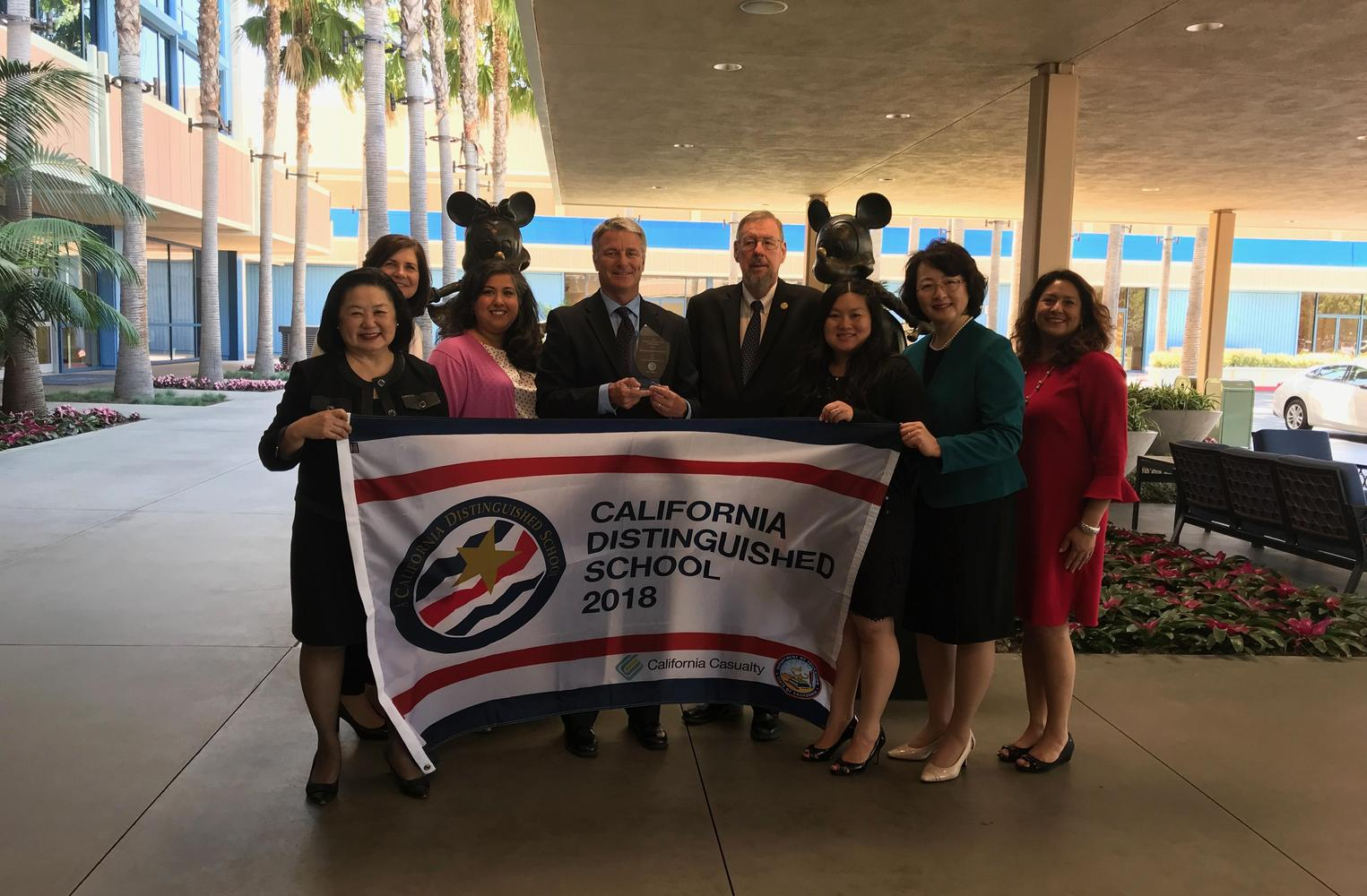 2018 CA Distinguished School Ceremony