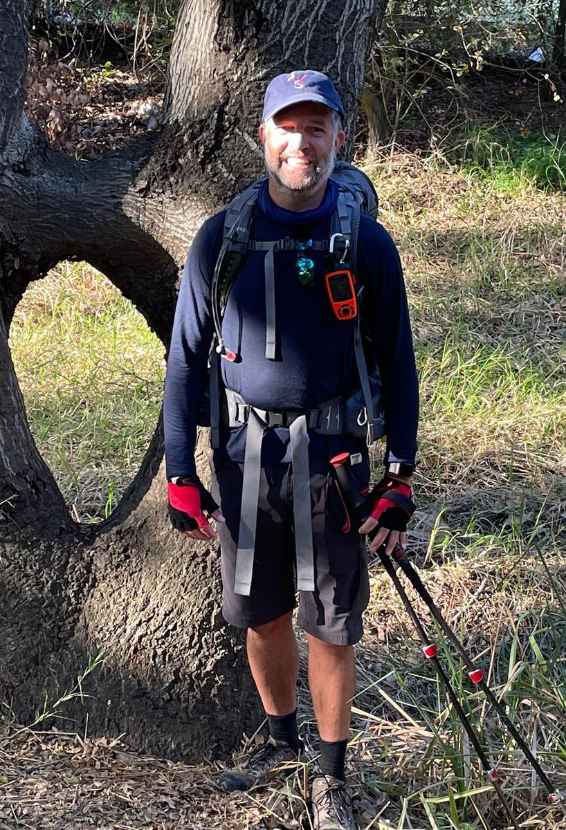 Tom Levee is taking on the Pacific Crest Trail in support of Value Schools