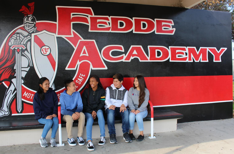 Students at Fedde