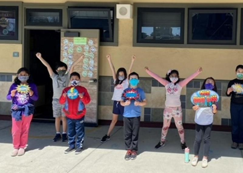 Reopening of School Recorded Webinars, FAQs, & Dashboard Thumbnail Image