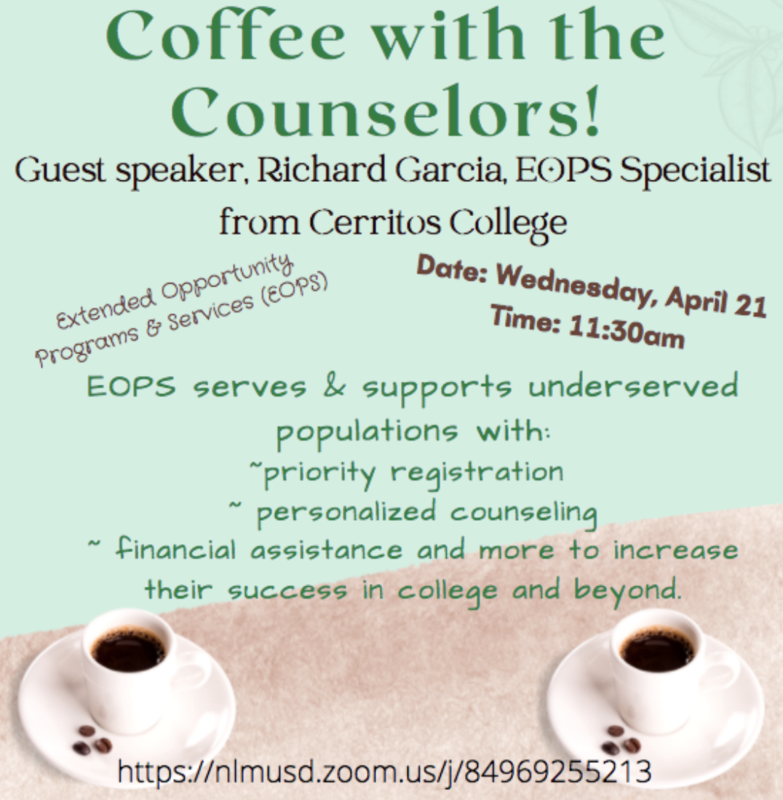 Coffee with Counselors Featured Photo