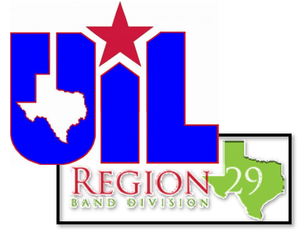 UIL Region 29 Band Logo