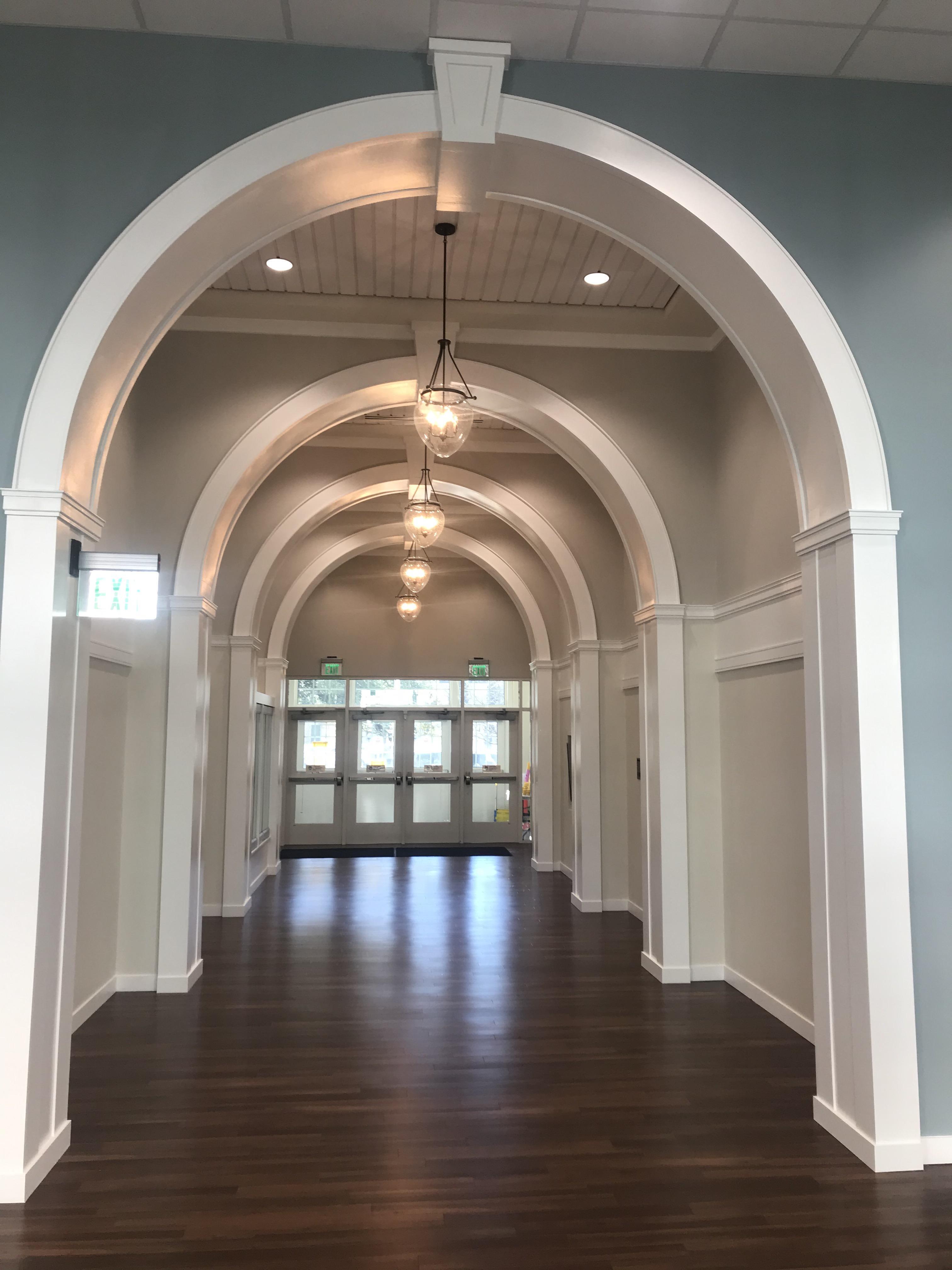 Hyer Elementary Entryway