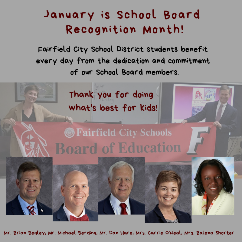 Thank You, Fairfield Board of Education Members! Featured Photo