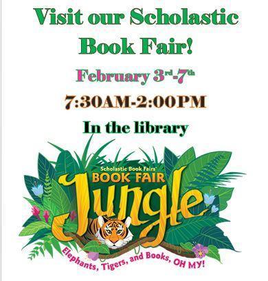 Scholastic Book Fair! February 3rd-7th Thumbnail Image