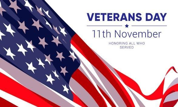 November 11th No School Veterans Day Featured Photo
