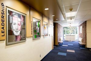 Entrance Hallway: After