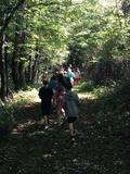 Classes enjoy the trek to our outdoor classroom.