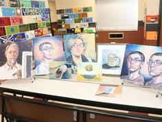 Student Art Display