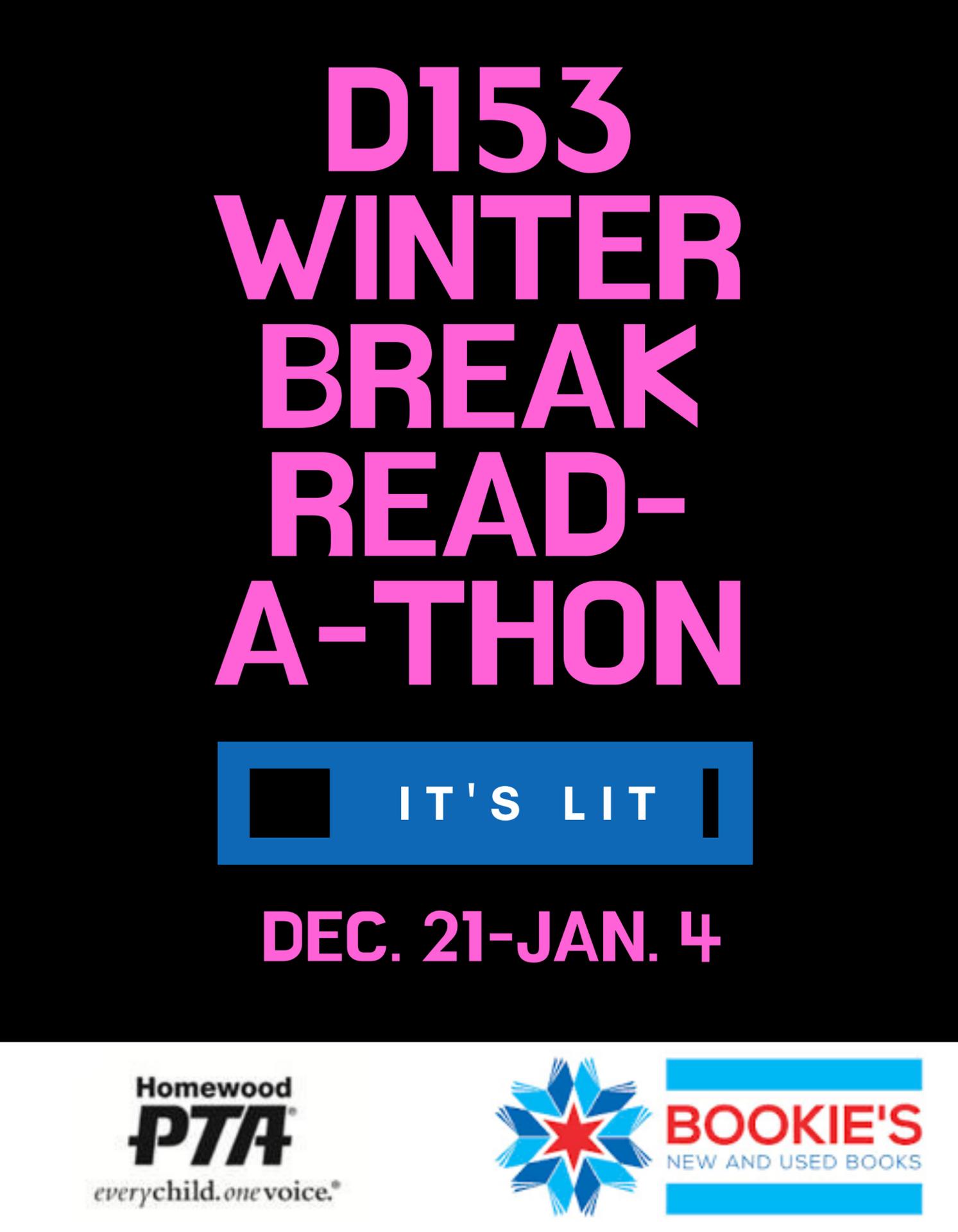 winter break read-a-thon