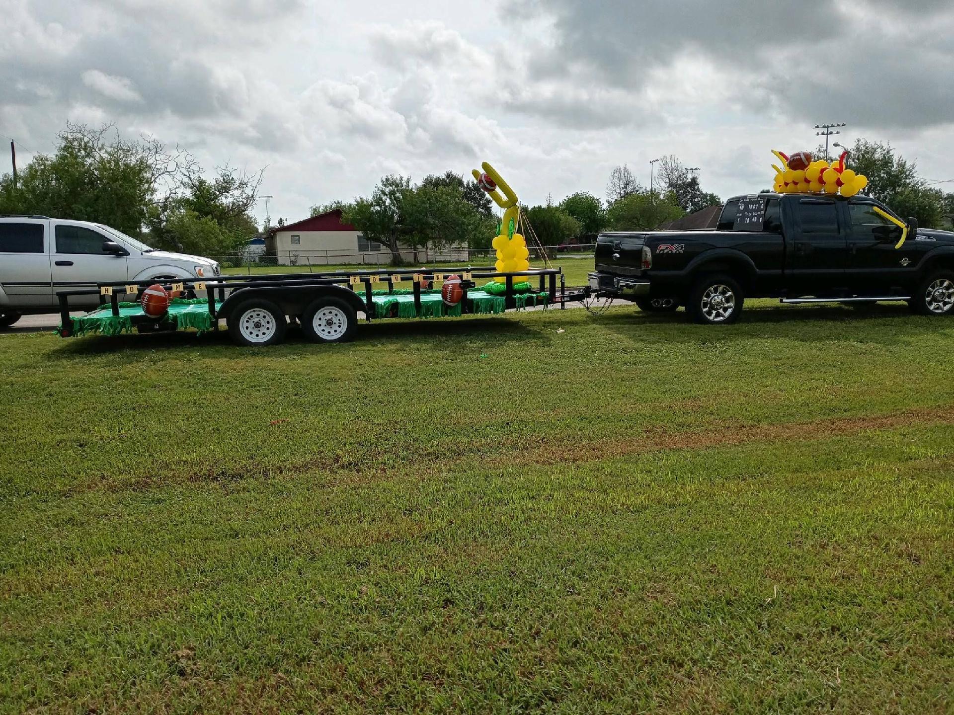Homecoming Parade Float