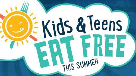 Kids and Teens Eat Free Summer Food Program logo