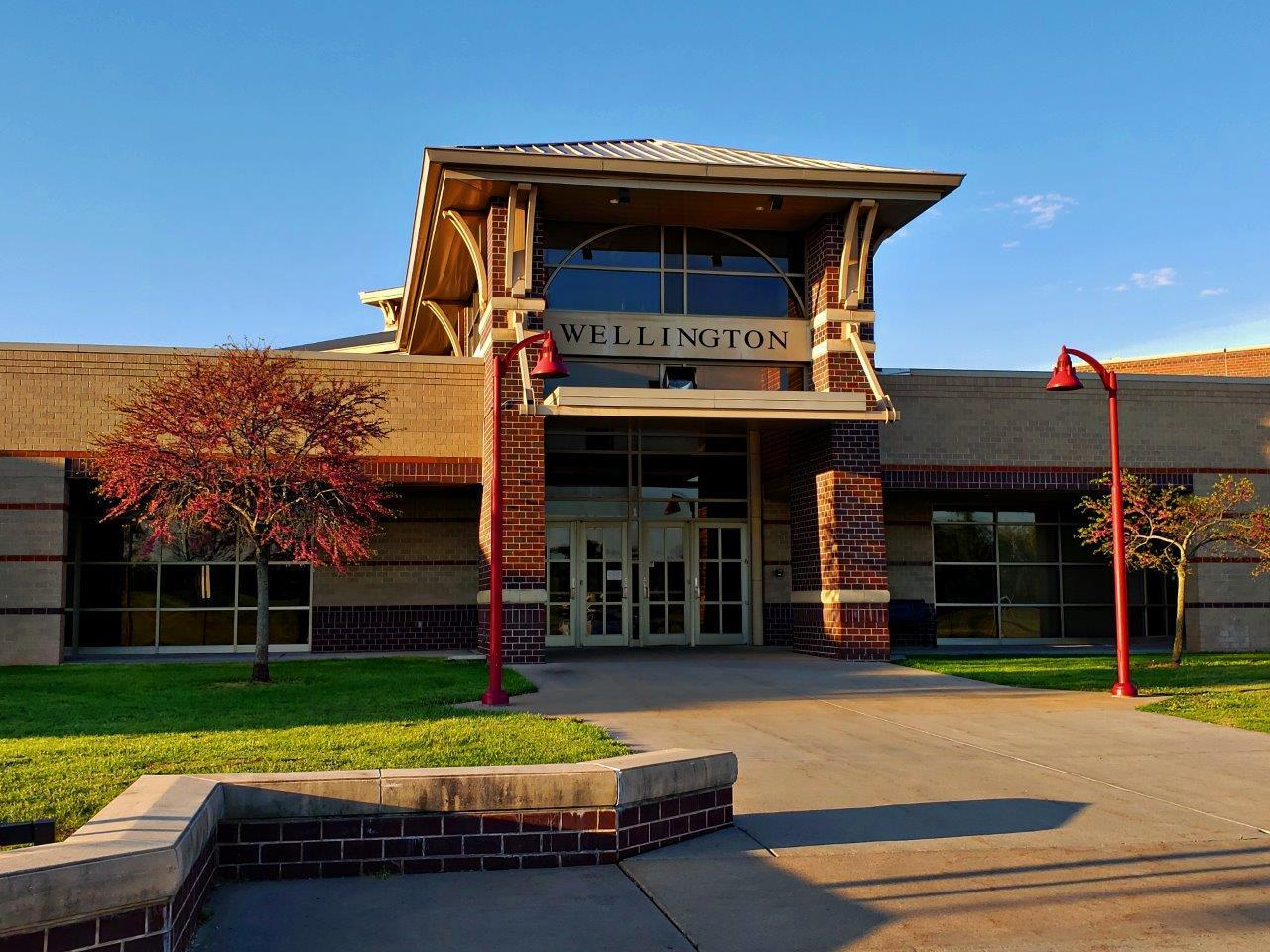Wellington High School Entrance