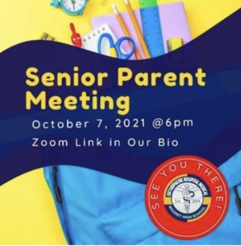 Senior Parent Meeting (Class of 2022) Featured Photo