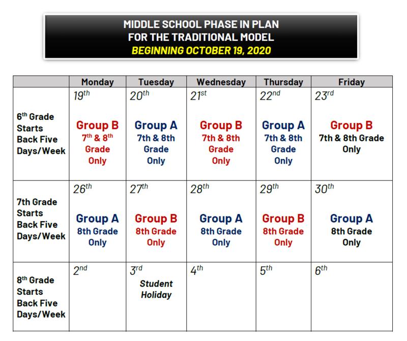 return to school plan