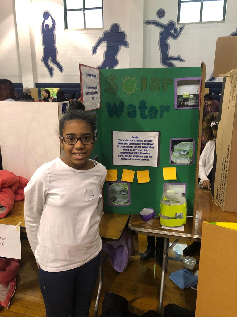 Edison student emeilia research solar water
