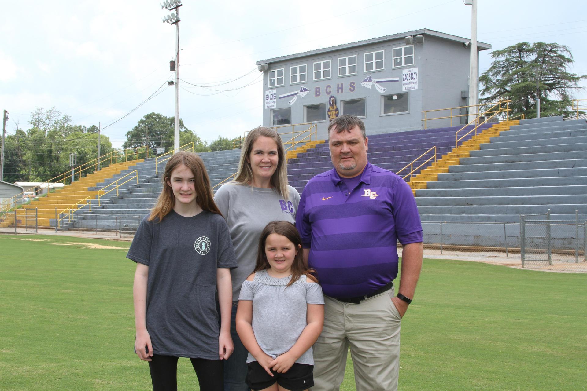 Daniel Payne and Family