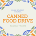 Milam Canned Food Drive
