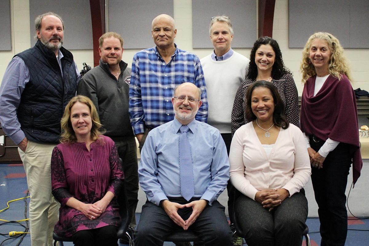 Front Row left to right: Inga Hansen, George Downing, Julia Atkins Back Row left to right: Christopher Coates, Scott Ansevin-Allen, Kris Roberts, James Carley, Rebcecca Lancaster, Dawn Mutuski