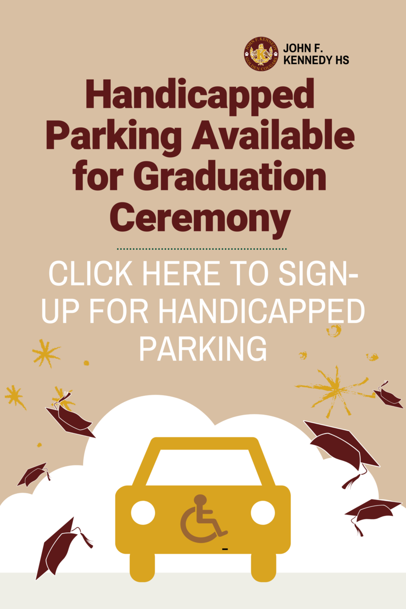 Click Here to Sign Up for Handicapped Parking Available for Graduation Ceremony Featured Photo