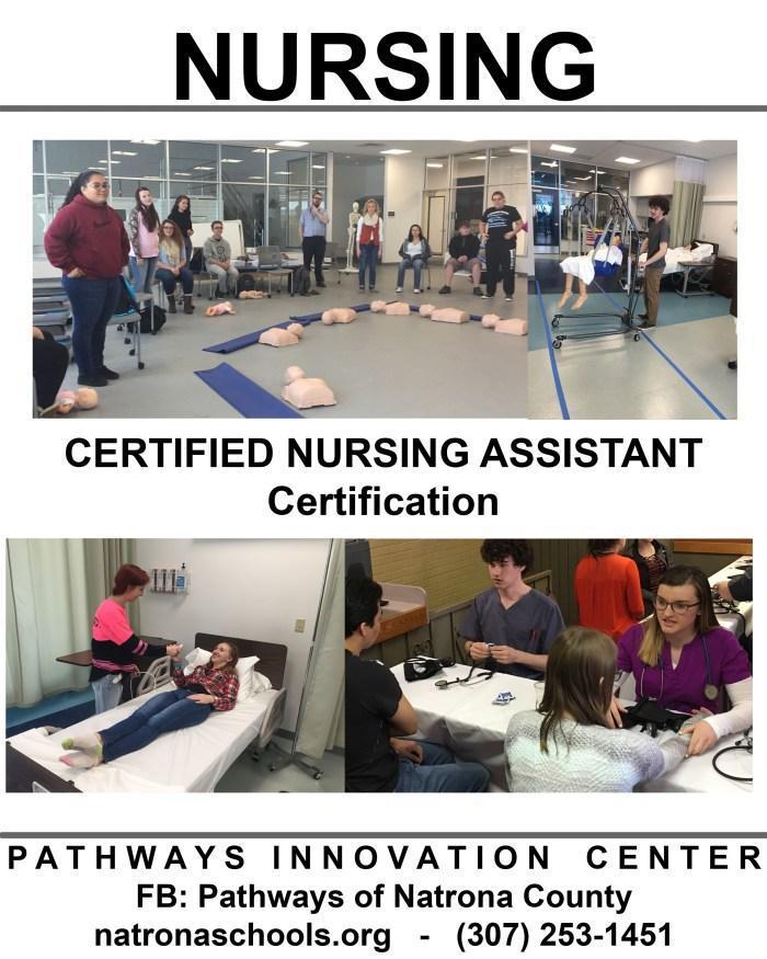 Pathway Innovation Center Nursing Program Flyer