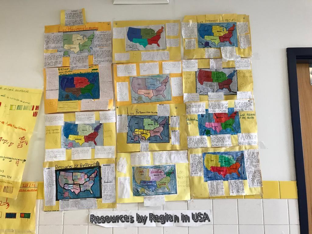 resources by region in USA Activity