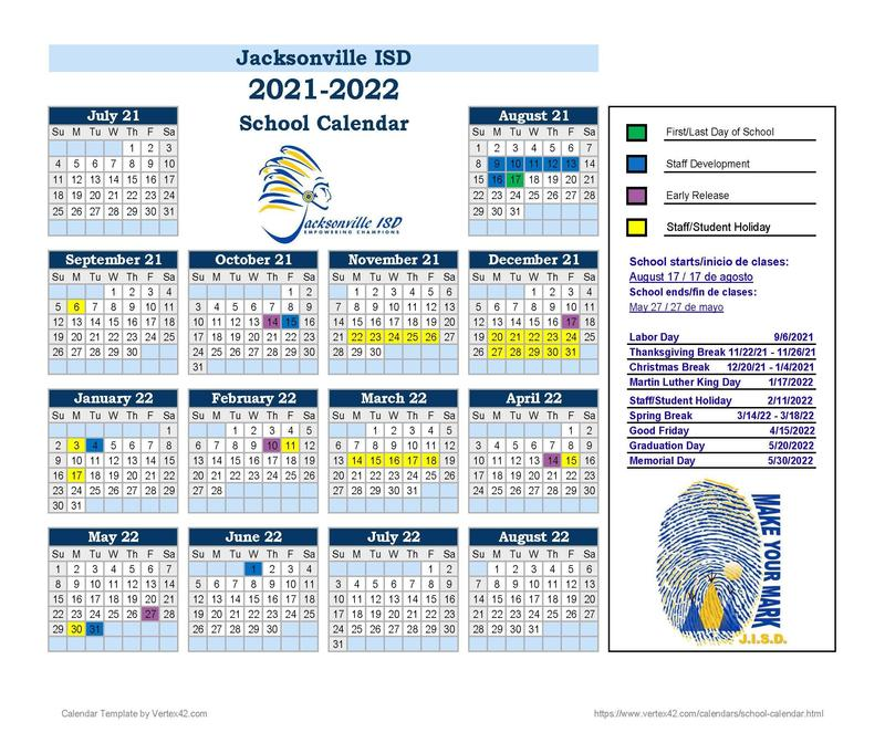 201-22 calendar