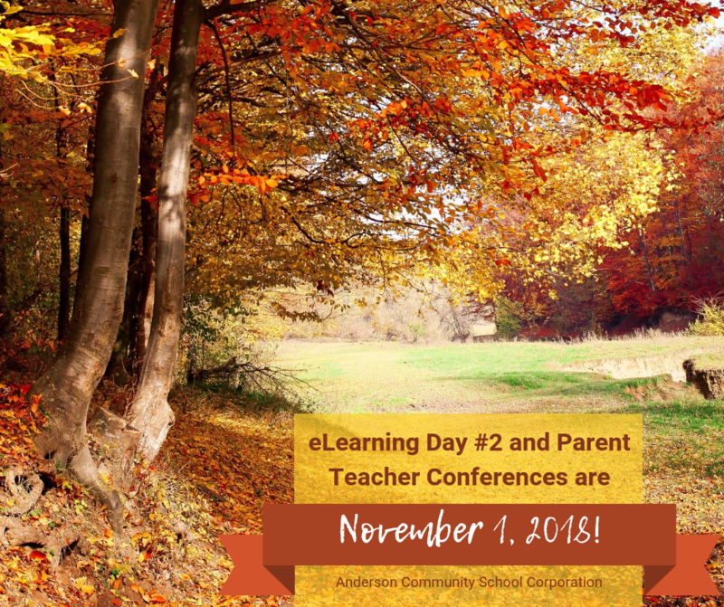 Parent Teacher Conferences and eLearning Day Thumbnail Image
