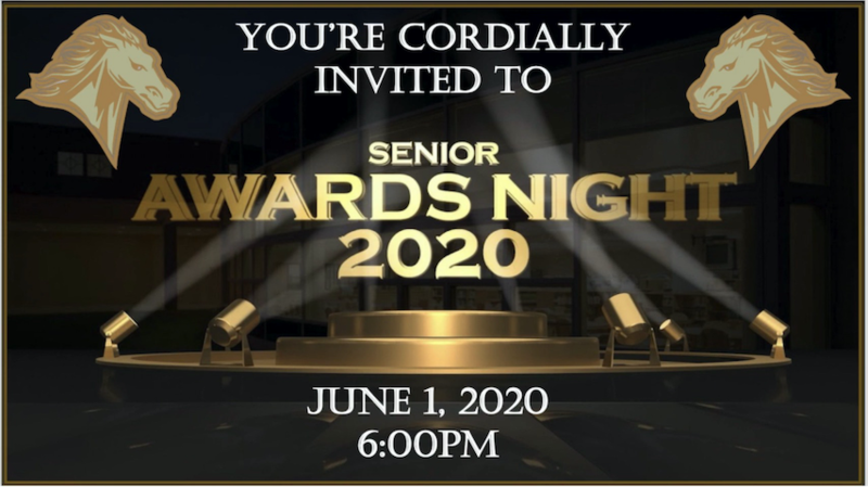 2020 Senior Awards Logo