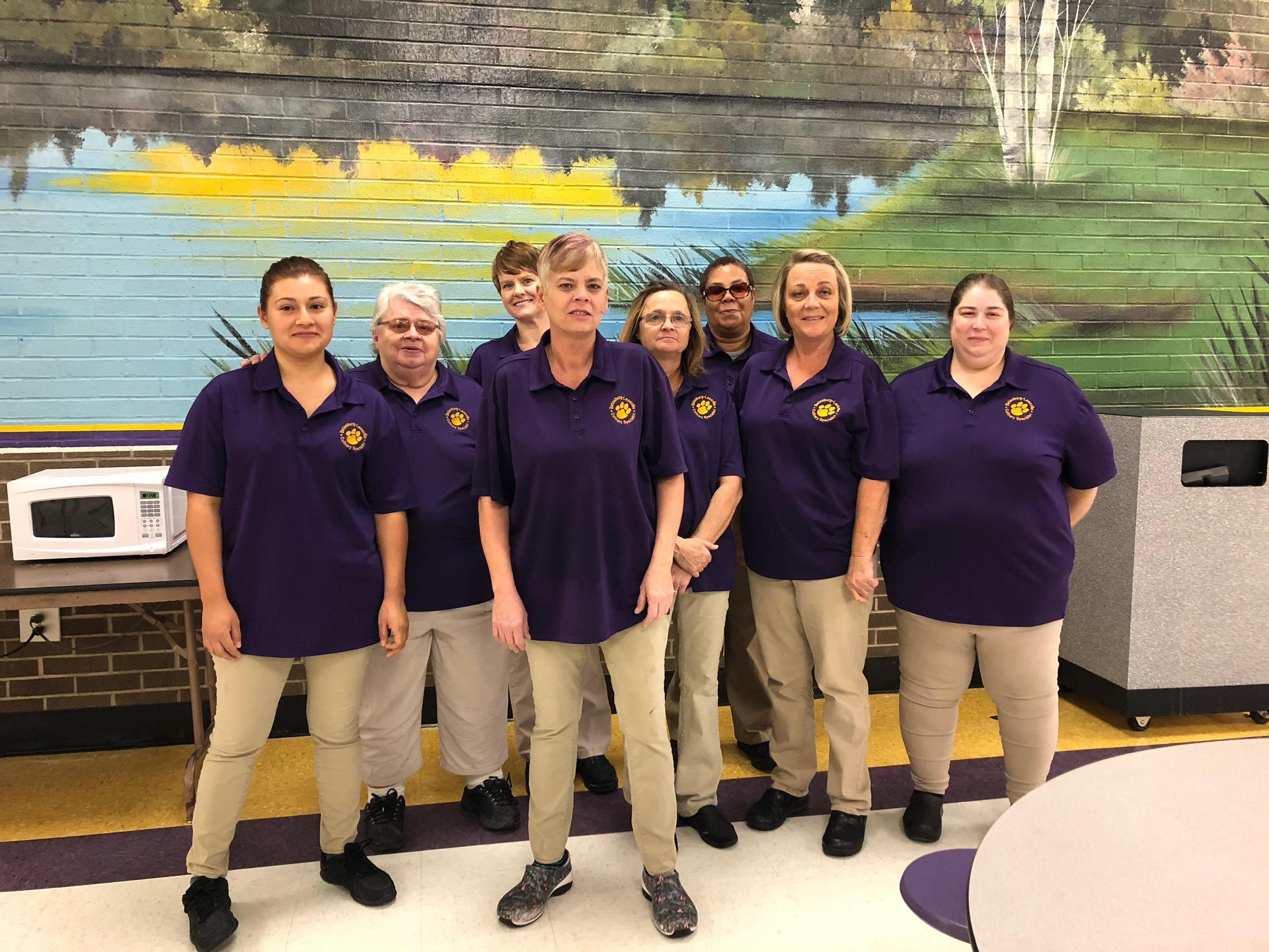 BLHS Cafeteria Staff