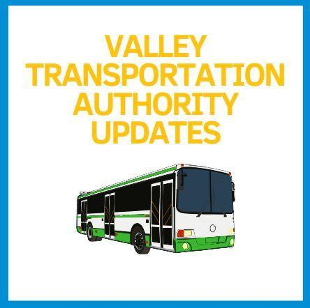 Valley Transportation Authority Updates