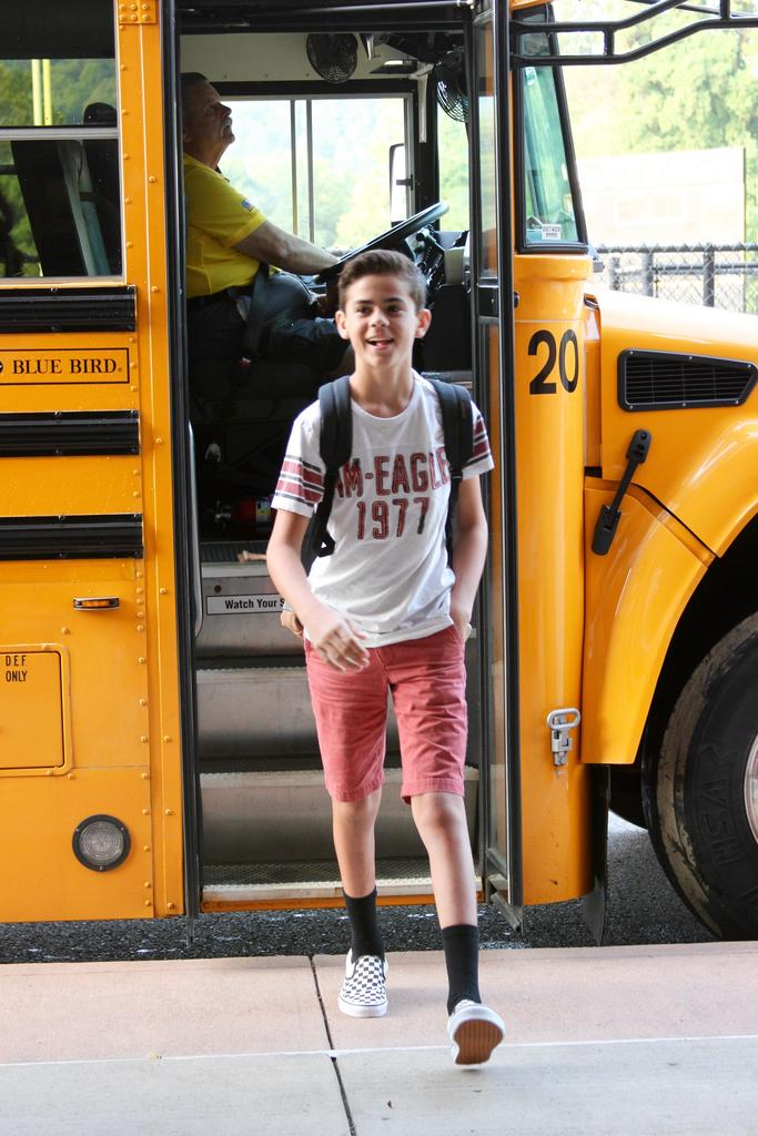 The 1st day at QVMS.