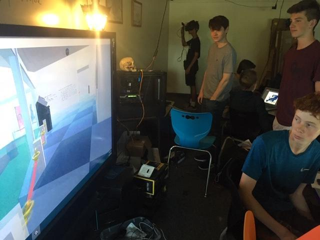 VR Moving Objects