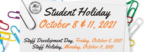 Student Holidays and Staff Development/Holiday