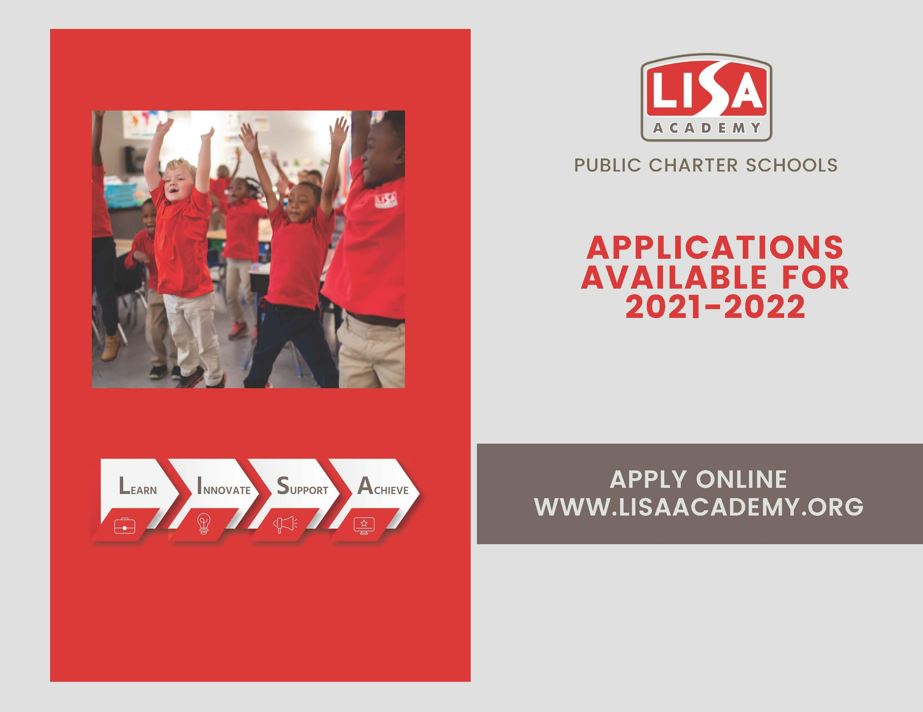 APPLY NOW FOR THE 2021-2022 SCHOOL YEAR Image
