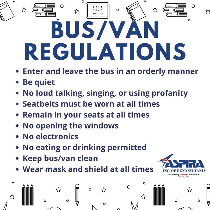 2021-2022 Bus Regulations Featured Photo