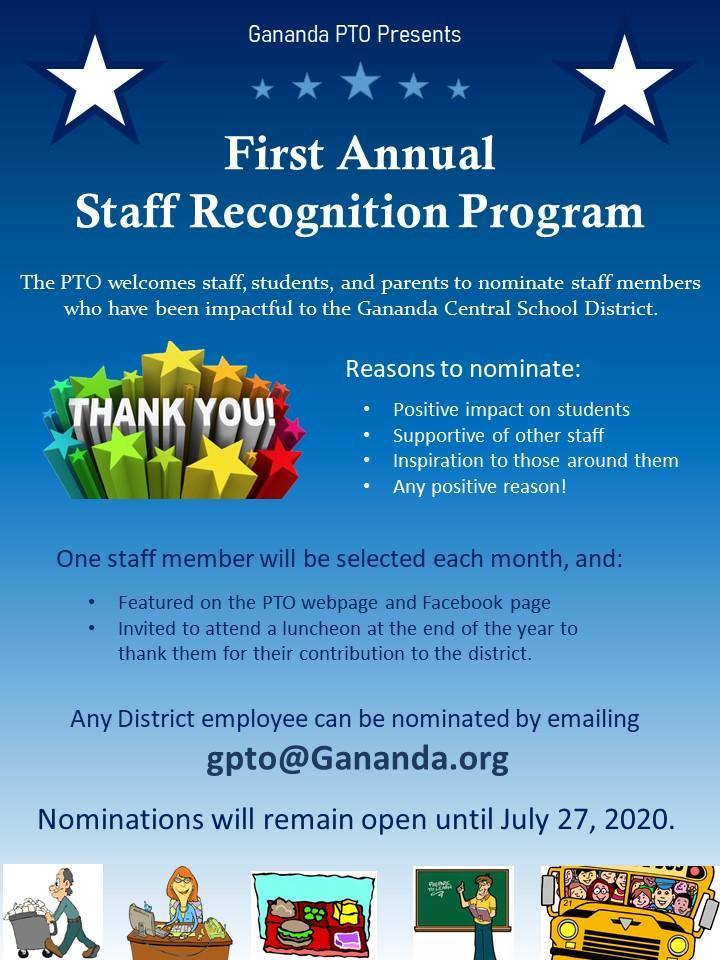 Staff Recognition Info