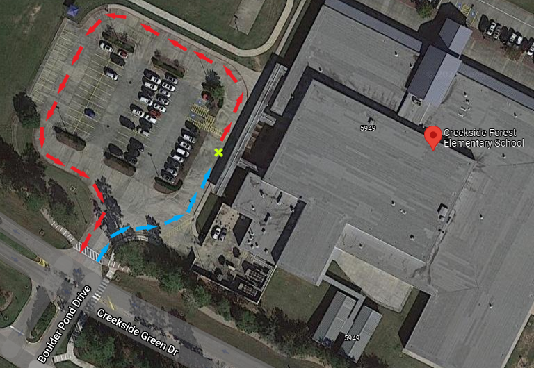 CFES curbside map
