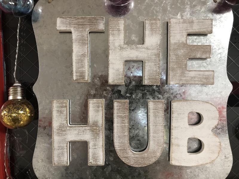 WLHS HUB Sign